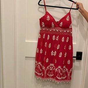 Red plenty by Tracy Reese dress